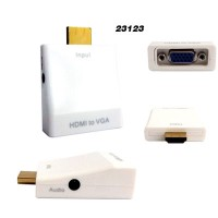 Adaptador HDMI x VGA (com AUDIO)