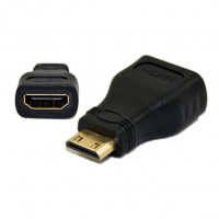 Adaptador Mini  HDMI (M) x HDMI (F)