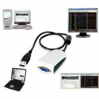 Conversor USB x VGA HIGH SPEED USB 2.0