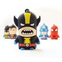 Pendrive 8GB Super-herois Wolverine