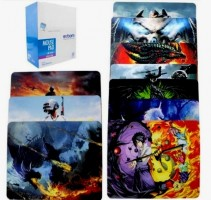 PACK 50UND MOUSE PADS 180X220X2MM MP-2218A (R$2,99 CADA)