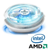 Cooler p/ CPU Intel (775/1155/1156) AMD (754/939/940)- Y6-CC