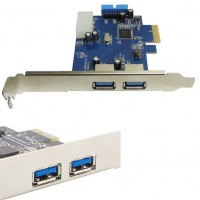 Placa USB 3.0 PCI Express 2 PORTAS