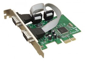 Placa PCI EXPRESS c/ 2 portas serial