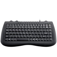 Teclado USB Multimidia (Mini) - KP-2007