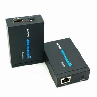 Kit Extensor HDMI x Rede CAT6 para 60M