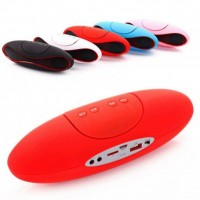 "Mini Caixa de Som ""OVAL""Speaker Bluetooth"
