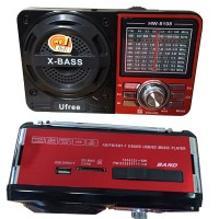 Mini Radio (USB/FM/SD/MP3/AM-FM/SW1-7) HW-8108