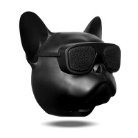 "CAIXA DE SOM ""MINI"" BULLDOG BLUETOOTH FM - PRETO"