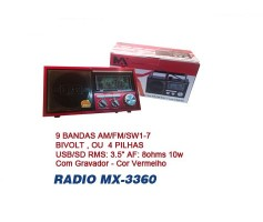 Mini Radio CNN3360